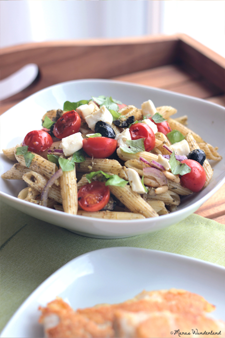 Nudel-Pesto-Salat