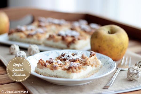 Apfel Quark Kuchen Mit Streuseln
