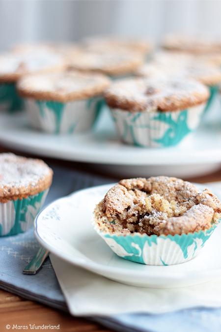 Apfel-Schoko-Nuss-Muffins