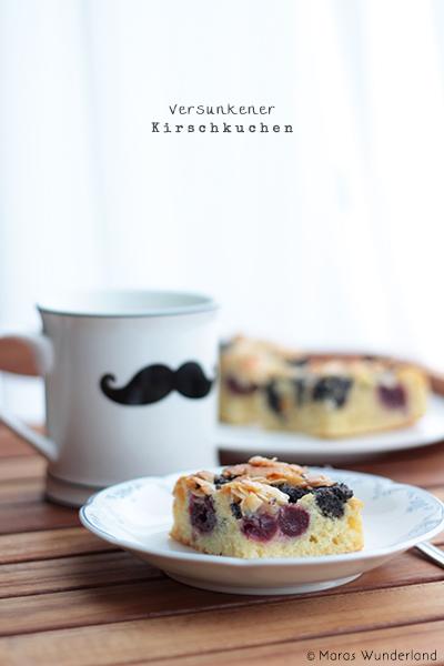 Mohn-Kirsch-Kleckskuchen