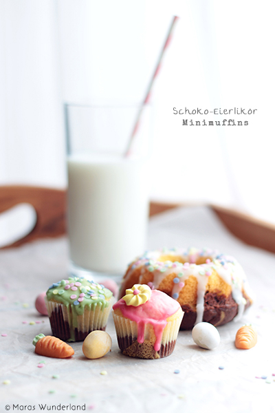 Schoko-Eierlikör-Minimuffins