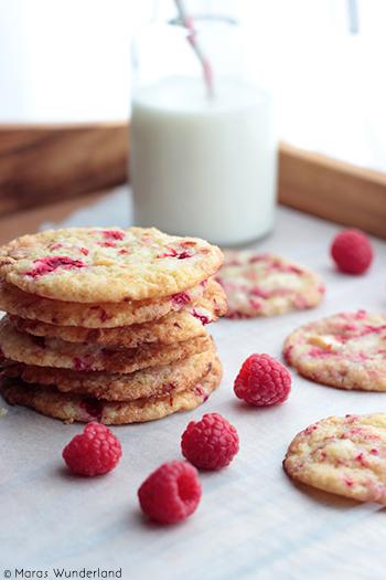 Himbeer-Cookies