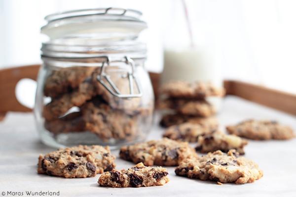 Schoko-Macadamia-Cookies