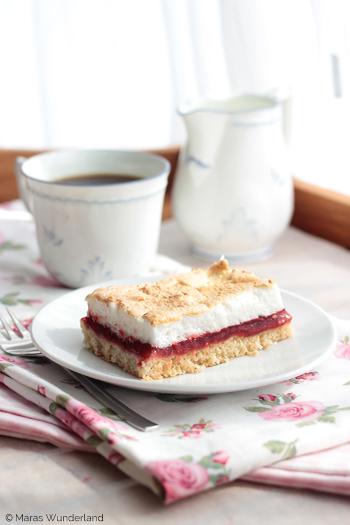 Himbeer-Baiser-Kuchen