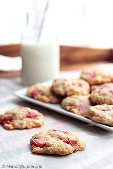 Erdbeer-Zitrone-Cookies