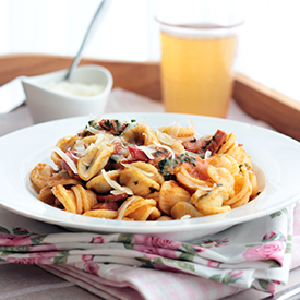 Pasta á la Italia mit Salsiccia