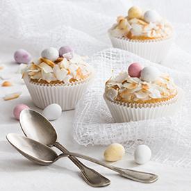 Osterliche Zitronencupcakes