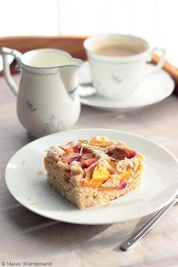 Nektarinen-Pflaumen-Joghurtkuchen
