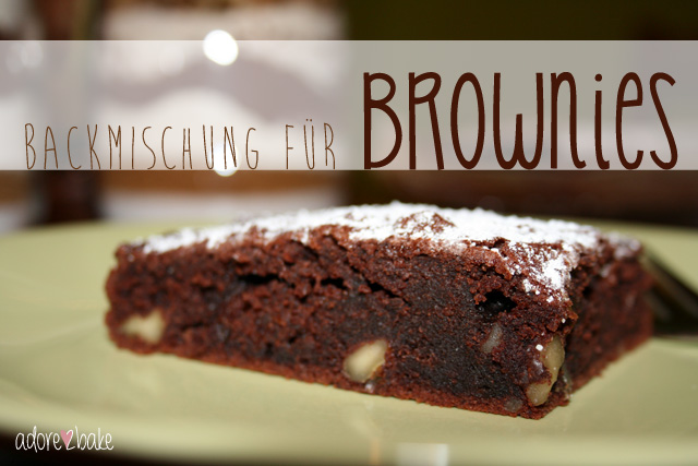 Brownies Backmischung