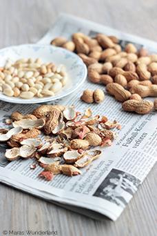 Erdnuss-Karamell-Pralinen