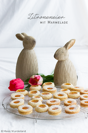 Zitroneneier mit Marmelade