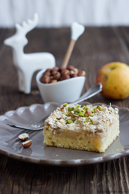 Apfel-Baiser-Kuchen