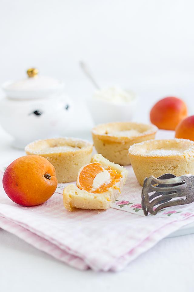 Aprikosen-Mascarpone-Muffins
