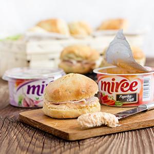 Miree-Frischkäsebrötchen