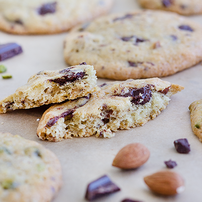 Chocolate Chip Cookies Pistazie & Mandel