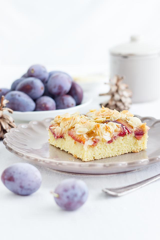 Zwetschgen-Mandel-Blechkuchen