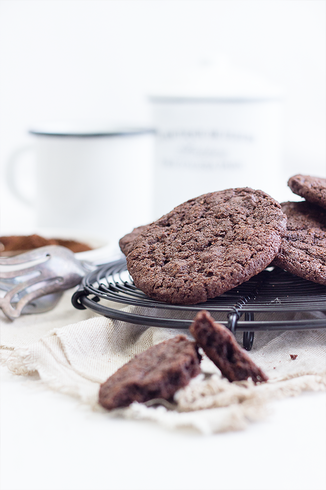 Espresso Chocolate Chunk Cookies