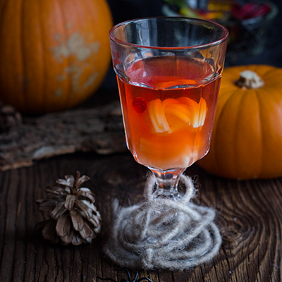 Halloween Cocktail (Negroni)