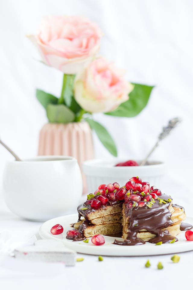 Herzige Buttermilch-Pancakes