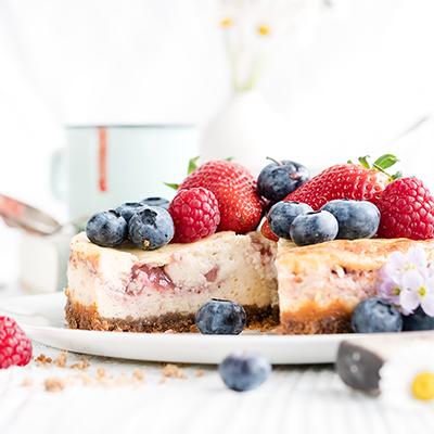 Berry-Cheesecake