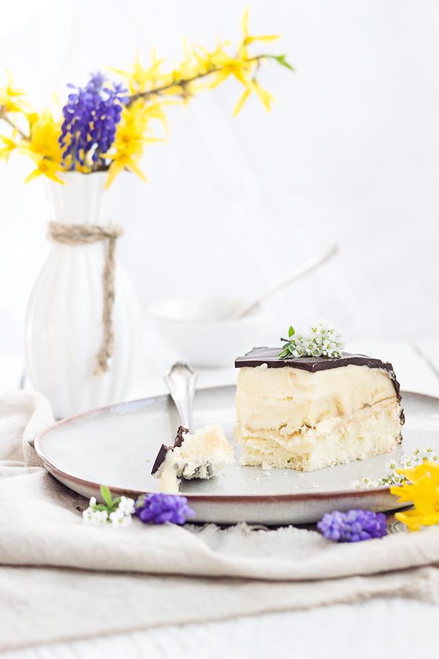Bananen-Creme-Torte