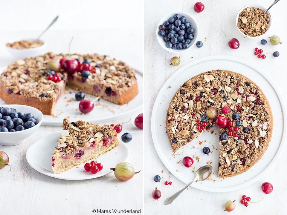 Gesunder Beeren-Joghurtkuchen