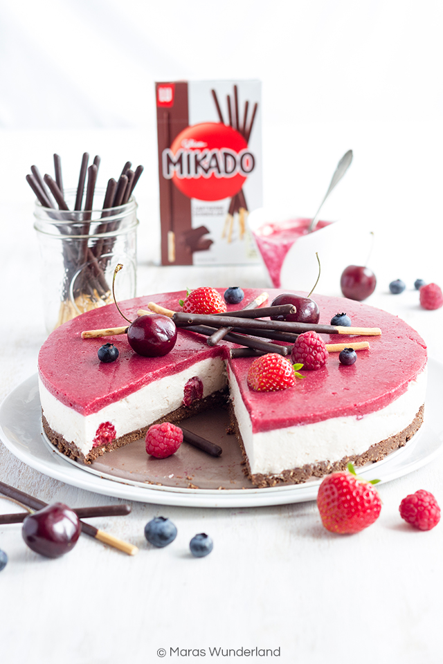 Mikado-Beerentorte