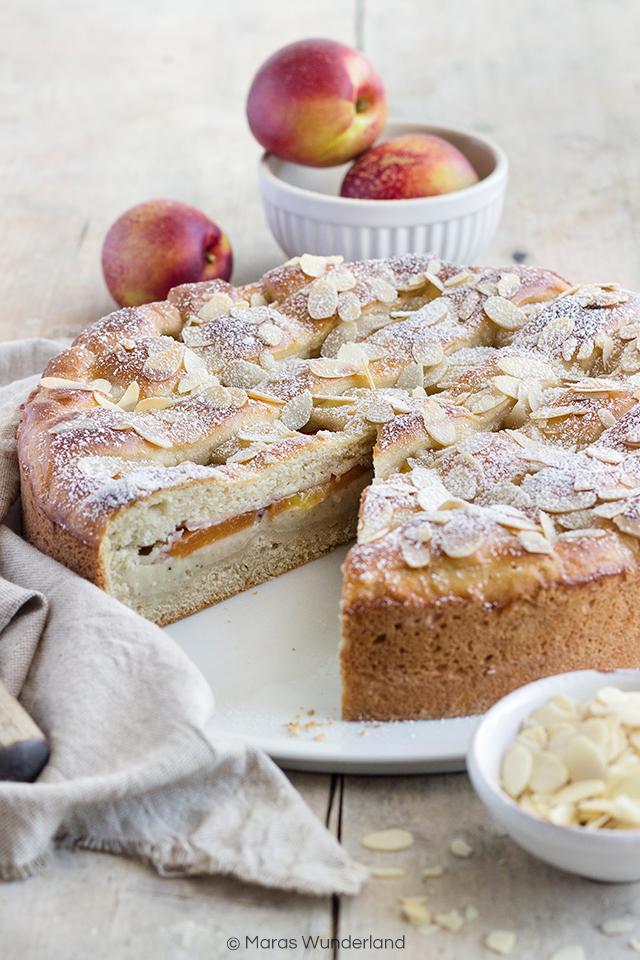 Nektarinen-Vanillekuchen