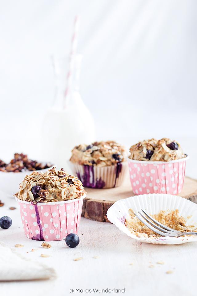 Gesunde Frühstücksmuffins