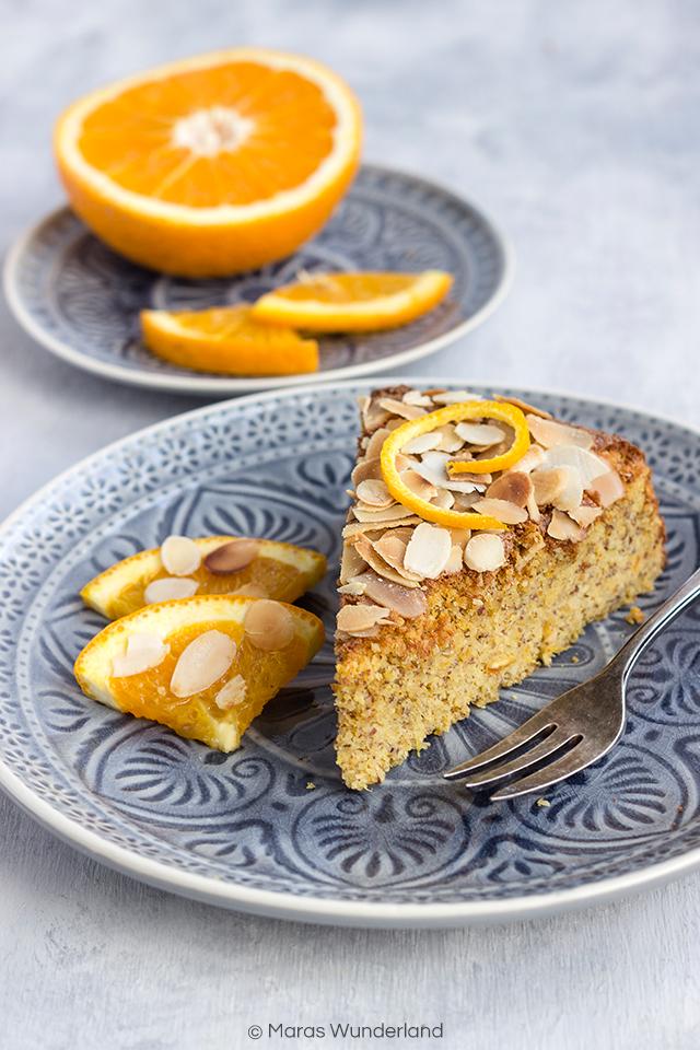 Spanischer Orangen-Mandelkuchen