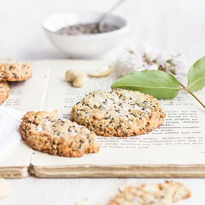 Healthy Lemon Chia Cookies