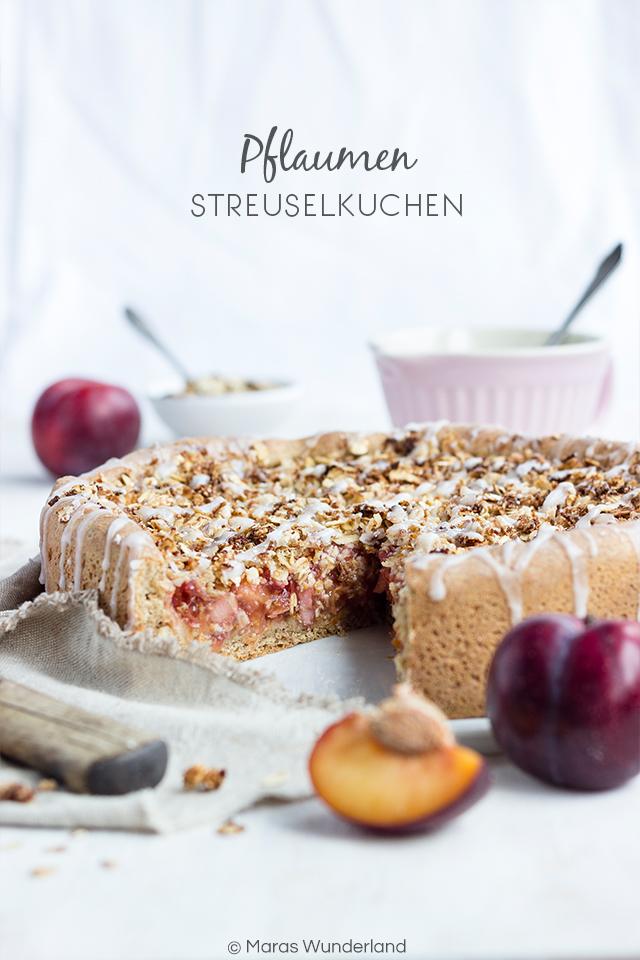 Veganer Pflaumen-Streuselkuchen