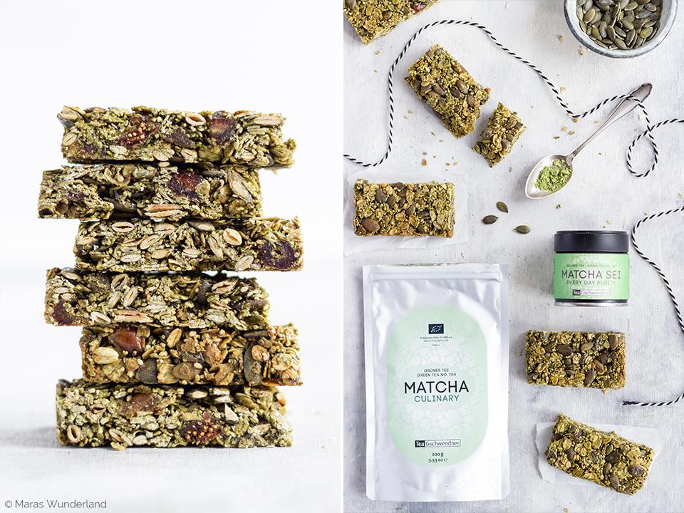 Healthy Matcha Bars