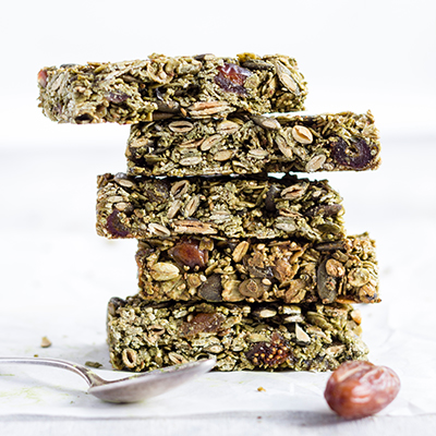 Healthy Matcha Bars