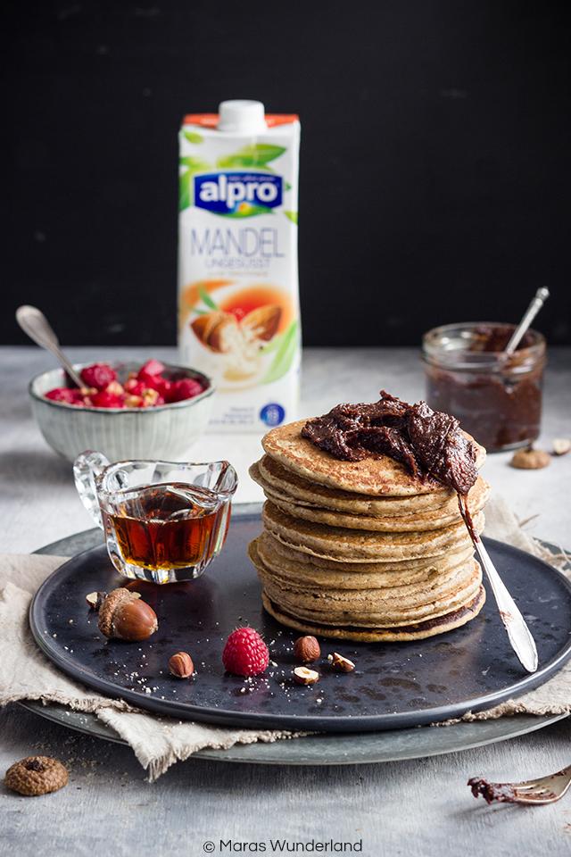 Gesunde Chai-Haselnuss-Pancakes