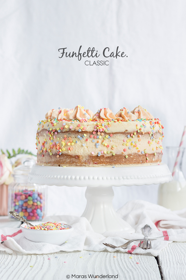 Klassiker: Funfetti Cake