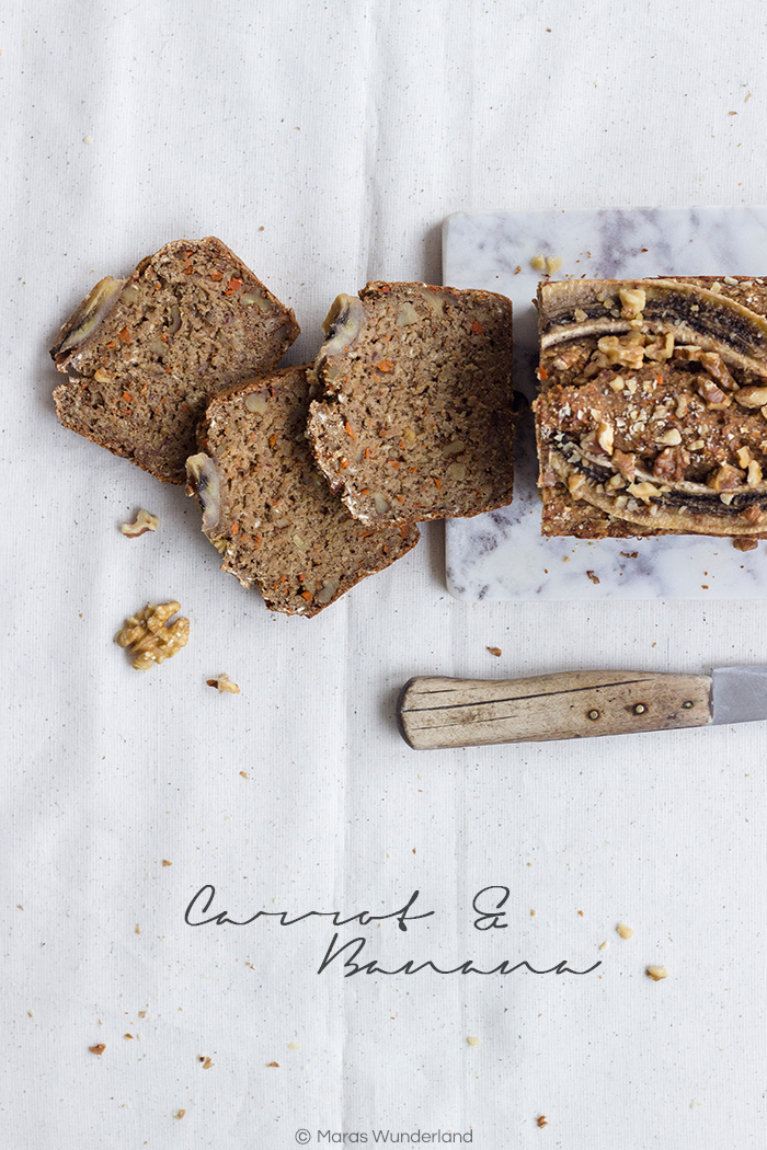 Healthy Carrot Banana Bread