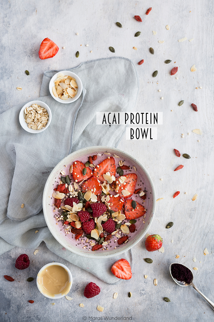 Açai Protein Bowl