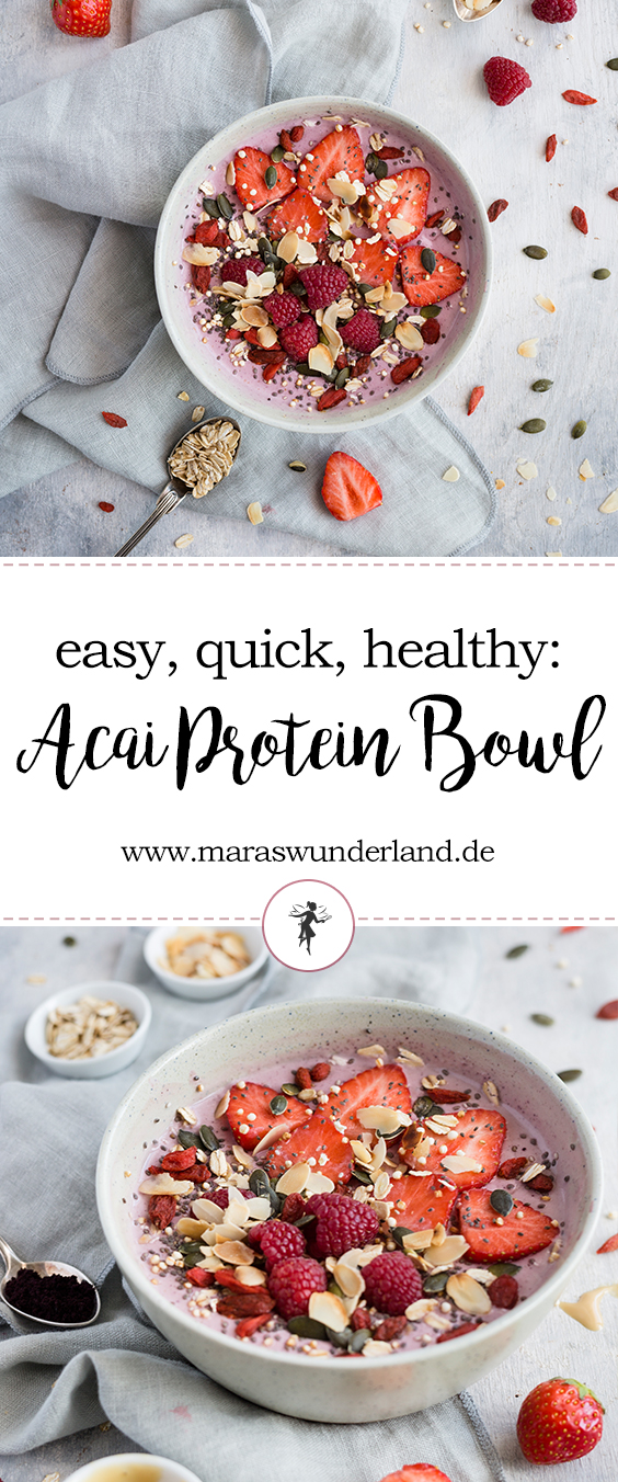 Healthy Açai Protein Bowl