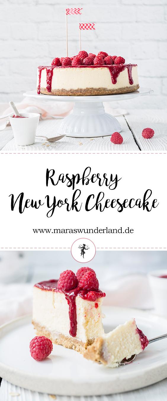 Klassiker: Himbeer New York Cheesecake von Maras Wunderland