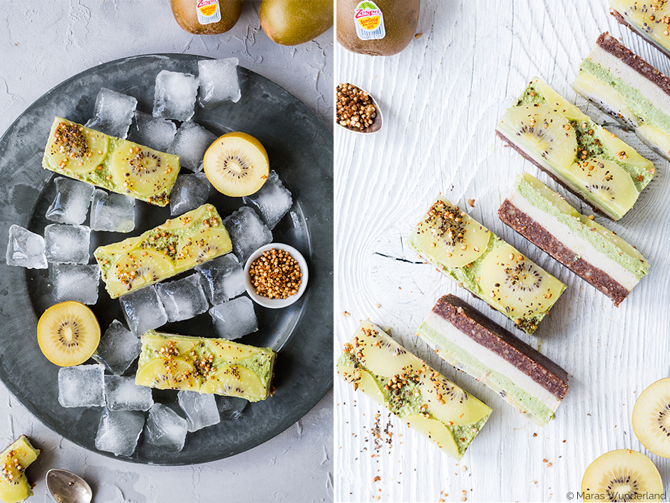 Healthy Raw Kiwi Cheesecake • from Maras Wunderland