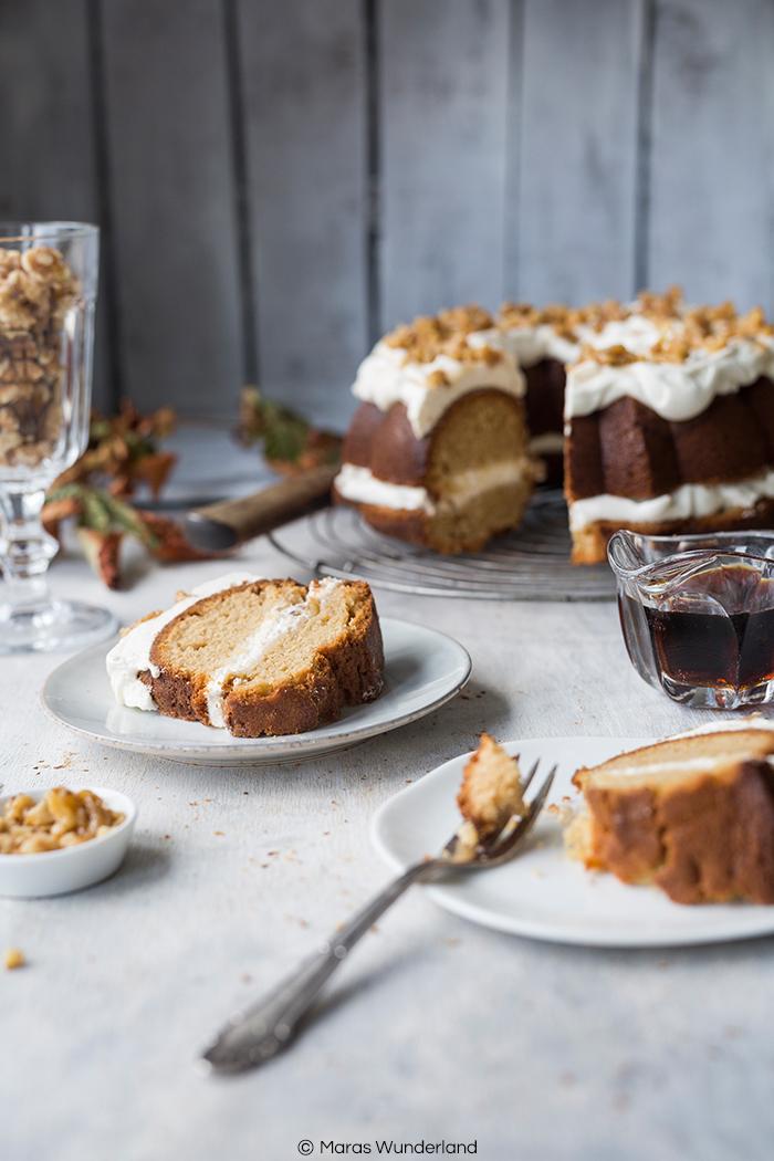 Ein Herz für Klassiker - Kanada: Maple Cake mit karamellisierten Walnüssen