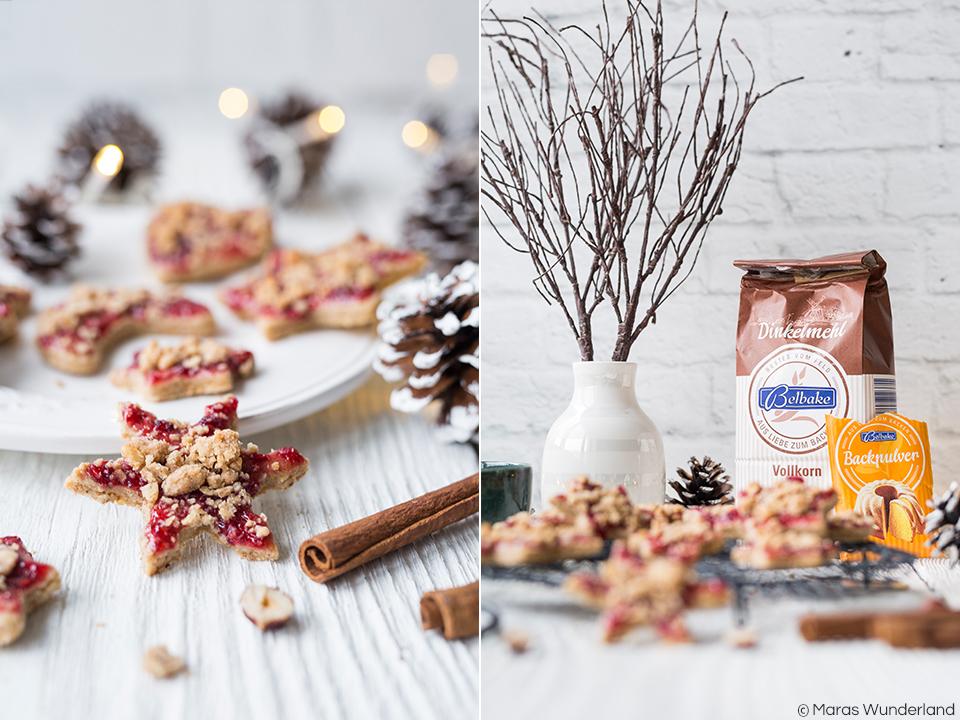 C{Werbung} Rezept für leckerste Chai-Streusel-Plätzchen mit Marmelade. • Maras Wunderland #weihnachtsplätzchen #plätzchen #ausstechplätzchen #christmascookies #maraswunderland