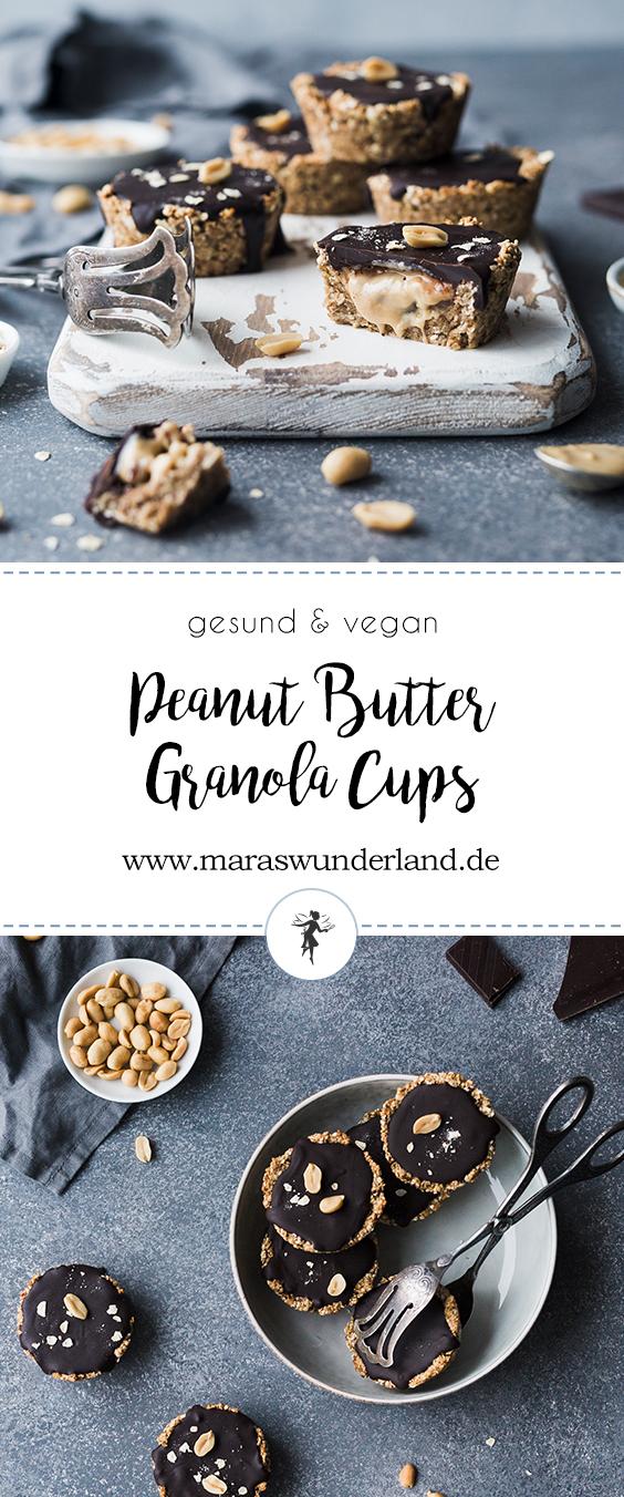 Gesunde Peanut Butter Granola Cups