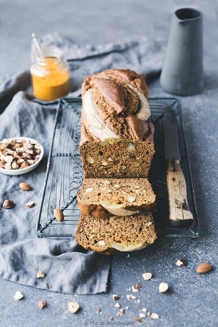 Kurkuma-Banana-Bread