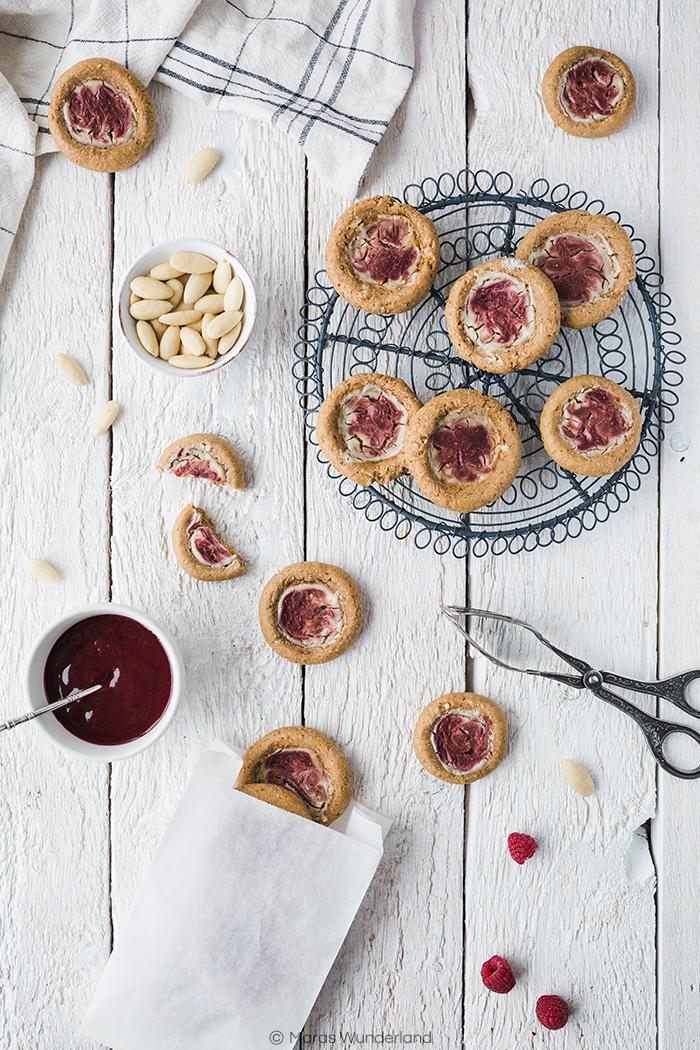 Himbeer-Frischkäse-Cookies