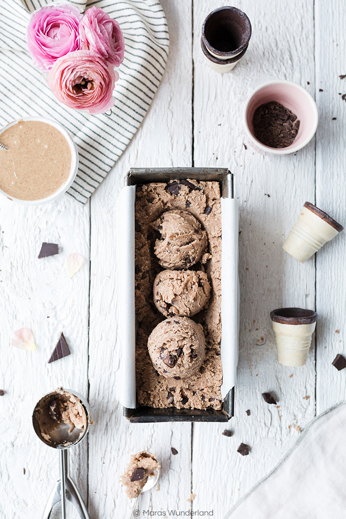 Gesunder, glutenfreier Cookie Dough
