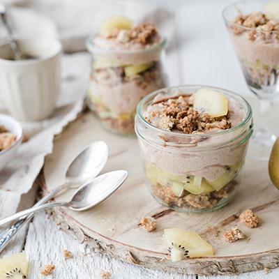 Gesundes Kiwi-Dessert