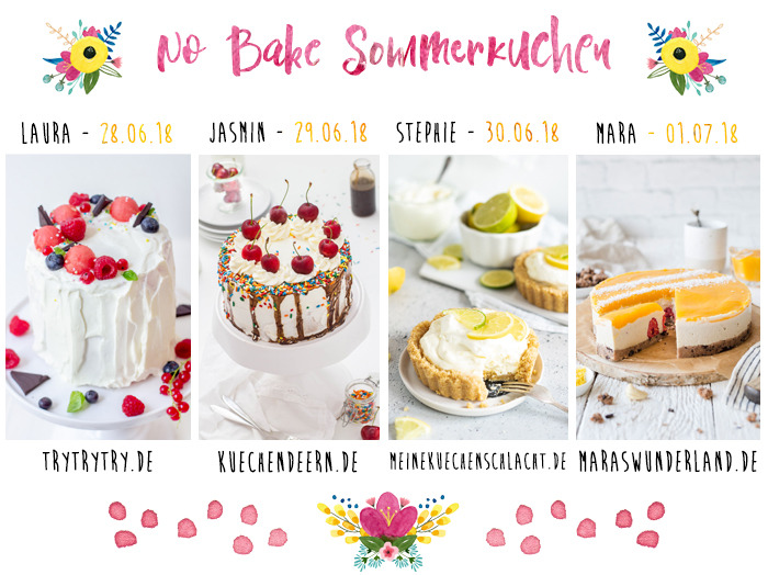 No Bake Sommerkuchen // Blogger-Aktion