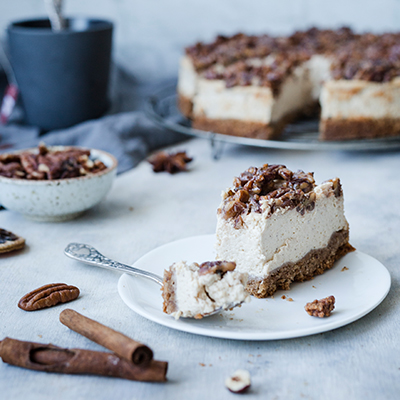 Chai Pekannuss Cheesecake